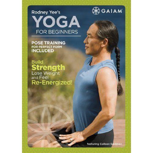 Amazon com rodney yee s yoga for beginners rodney yee colleen