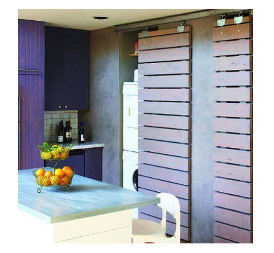 space saving sliding barn doors roundup. Black Bedroom Furniture Sets. Home Design Ideas