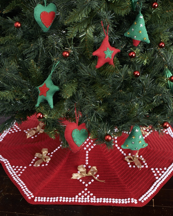 crochet tree skirt - an heirloom piece Crochet Christmas Pinterest