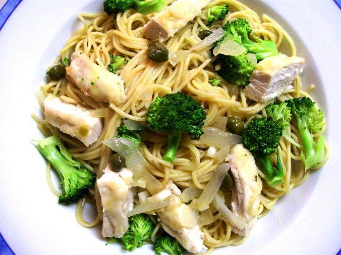 Pasta, Broccoli And Chicken Recipe — Dishmaps