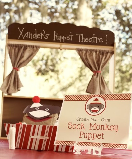 Party Frosting: Sock Monkey Party Ideas and Inspiration