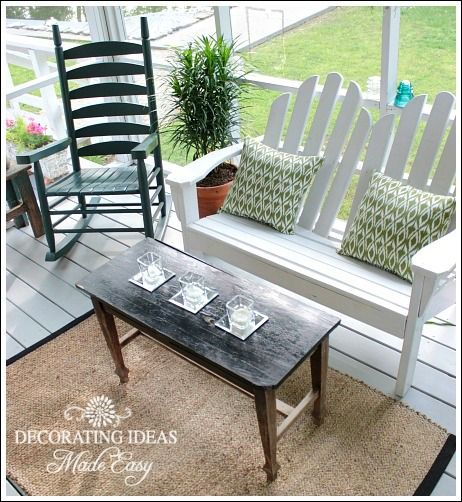 porch decorating ideas on a budget annie pinterest