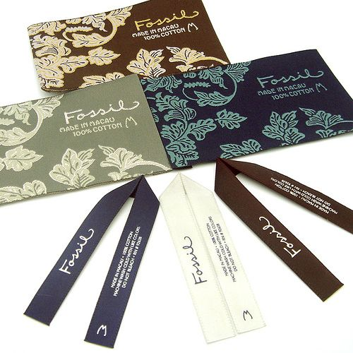 Clothing labels : Fossil by handmade julz, via Flickr