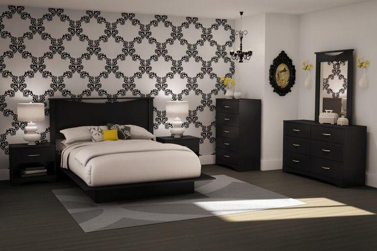 Idée de chambre à coucher moderne  idées pour lappart ...