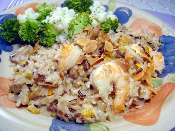 Shrimp & Wild Rice. Photo by Lori Mama I made this for my dad for his ...