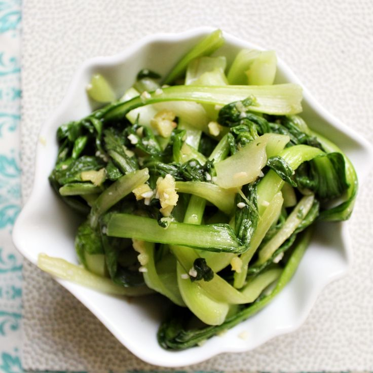 Braised Baby Bok Choy With Garlic, Ginger, And Soy Recipes ...