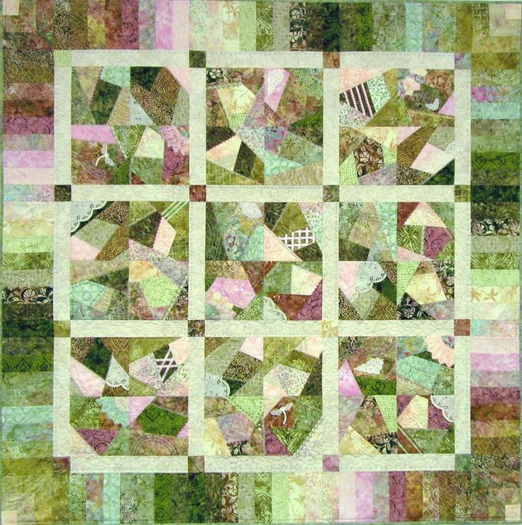 Crazy Quilt Pattern Images : serendipity pattern crazy patch quilt leanne Pinterest
