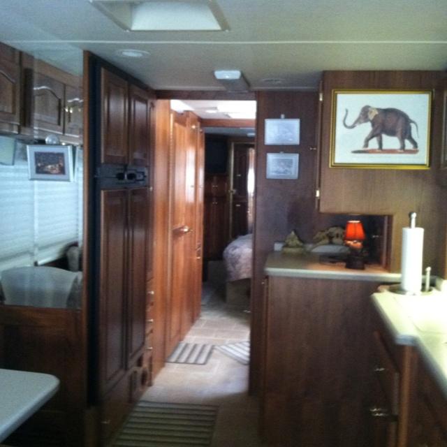 Our Motor Home Interior Motor Homes Pinterest