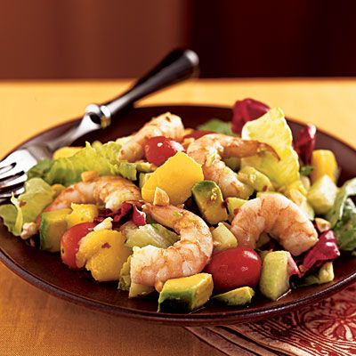 Tropical Chopped Salad with Shrimp | Salads | Pinterest