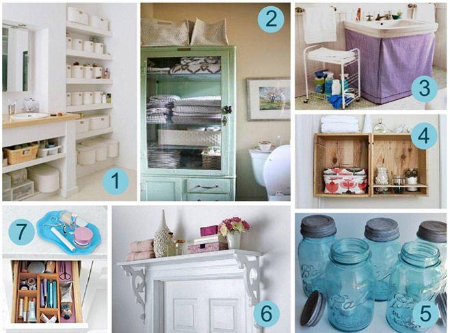 Brilliant 19 Small Bathroom Storage Solutions