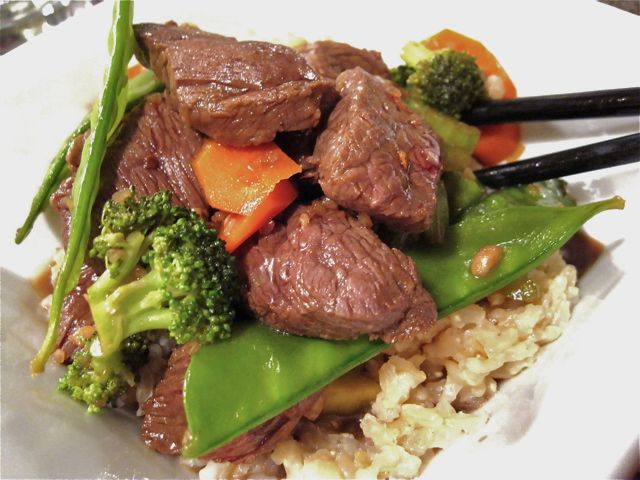 Korean Beef Stir-Fry Recipe — Dishmaps
