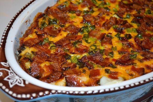 Make-Ahead Loaded Mashed Potatoes