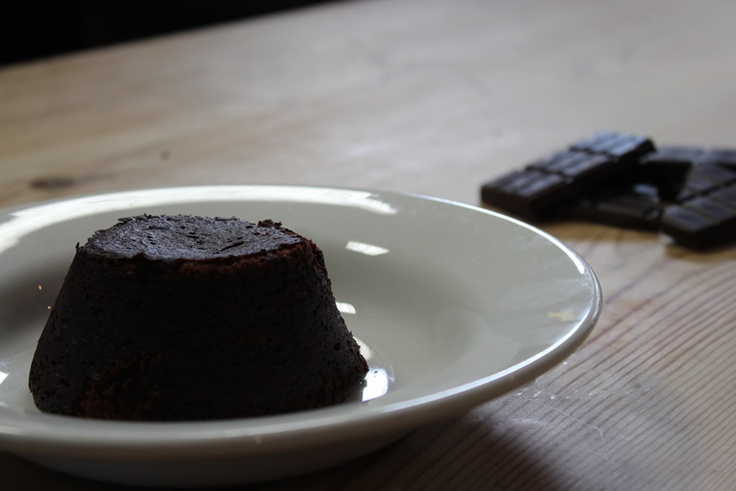 Hughs chocolate, prunes and brandy | try this with almond flour ...