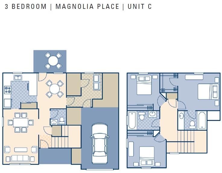 Ncbc Gulfport Magnolia Place Neighborhood 3 Bedroom