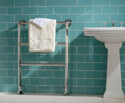 Teal Bathroom Tile Retreat Pinterest
