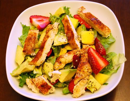 ... Meliscious - a cooking blog by Melissa: California Chicken Salad
