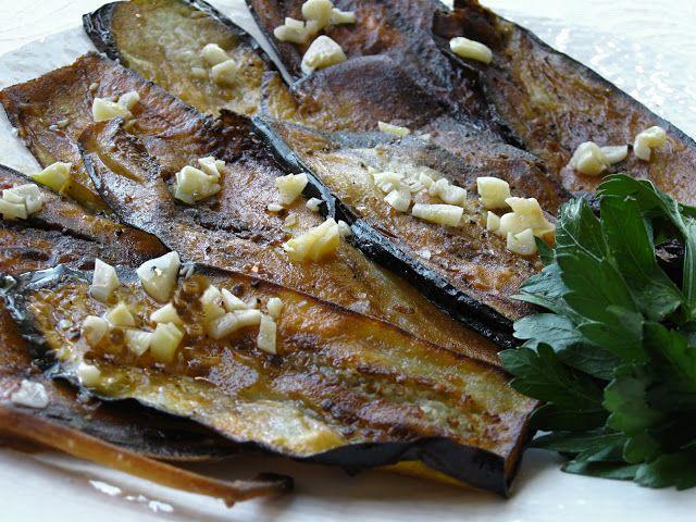Eggplant and Garlic Salad | Super Salads | Pinterest