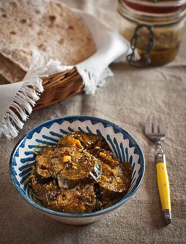 Indian Pickled eggplant