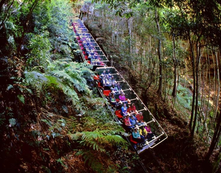 sydney blue mountains train - photo#3