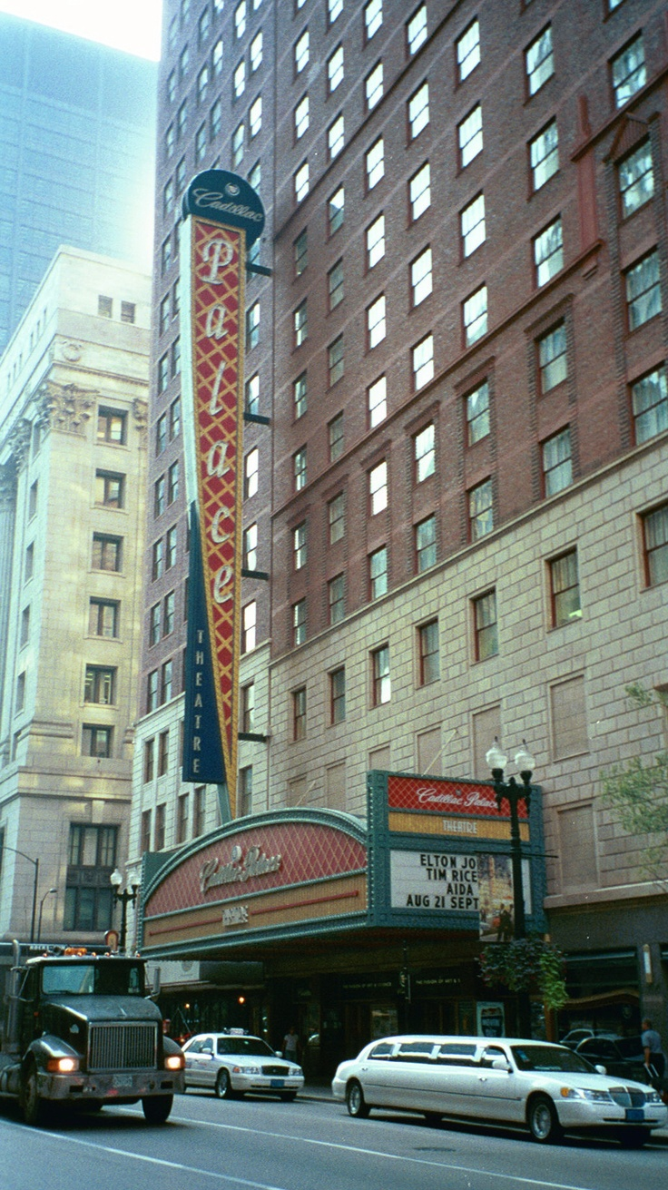 cadillac palace theatre chicago il wicked pinterest. Cars Review. Best American Auto & Cars Review