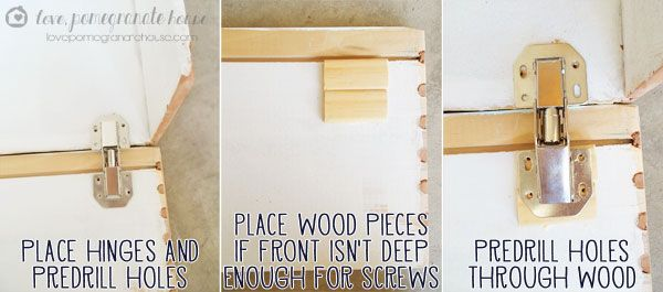 How to make a flip down media drawer for the home pinterest - Accordion kitchen cabinet doors ...