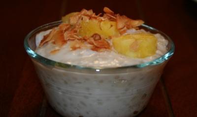 Coconut Tapioca Pudding | Gluten Freedom - Desserts | Pinterest
