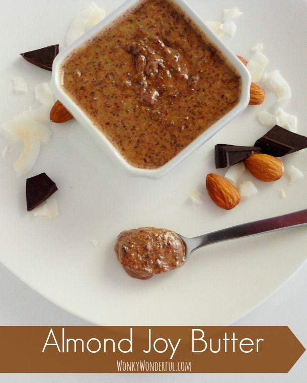 Chocolate Coconut Almond Butter Recipe - Almond Joy Butter Spread ...