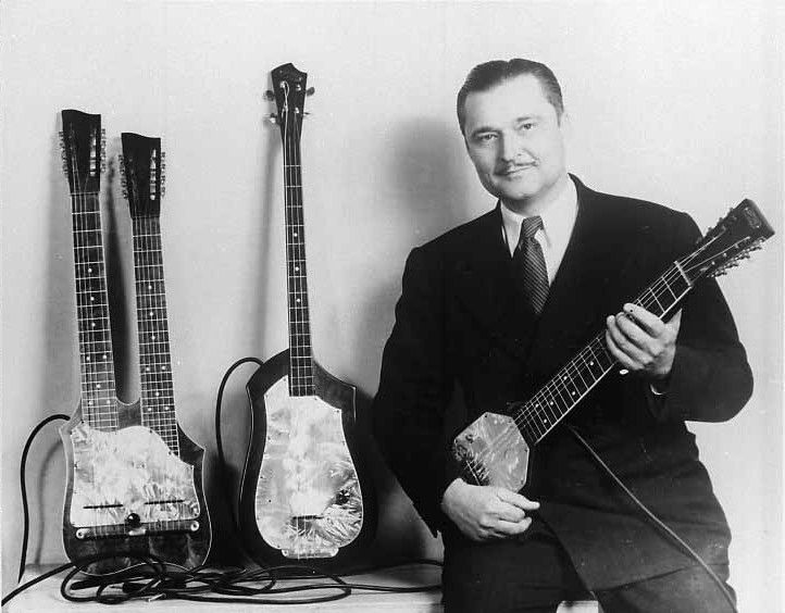 Great-Grandpa Paul Tutmarc. The Inventor of the Electric Guitar. http ... Buddy Holly Electric Guitar