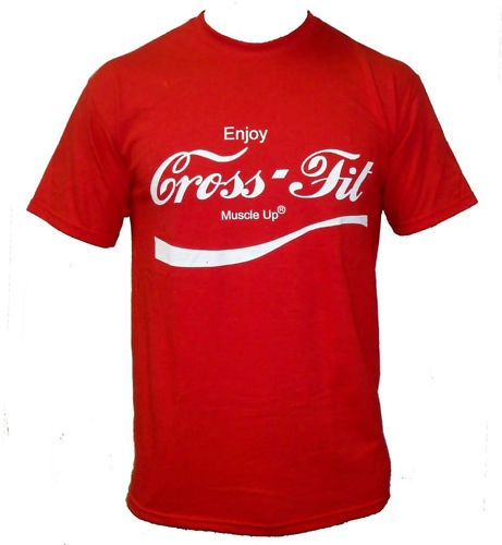 enjoy crossfit t shirt for men cross fit