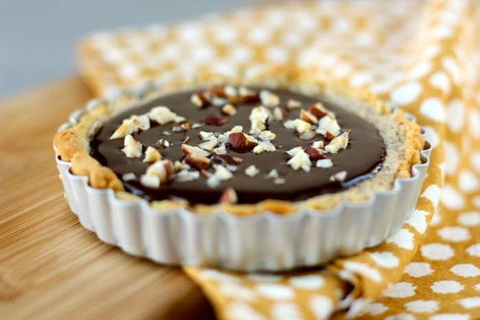 Hazelnut and Nutella Ganache Tart | FoOd y dRinK! | Pinterest