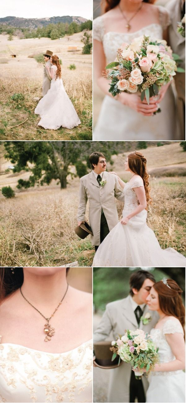 This is not a photoshoot! This is an amazing vintage wedding on Style Me Pretty (click here for the whole shebang: http://StyleMePretty.com/2012/04/06/julian-wedding-by-desi-baytan-photography/) Photography by Desi Baytan
