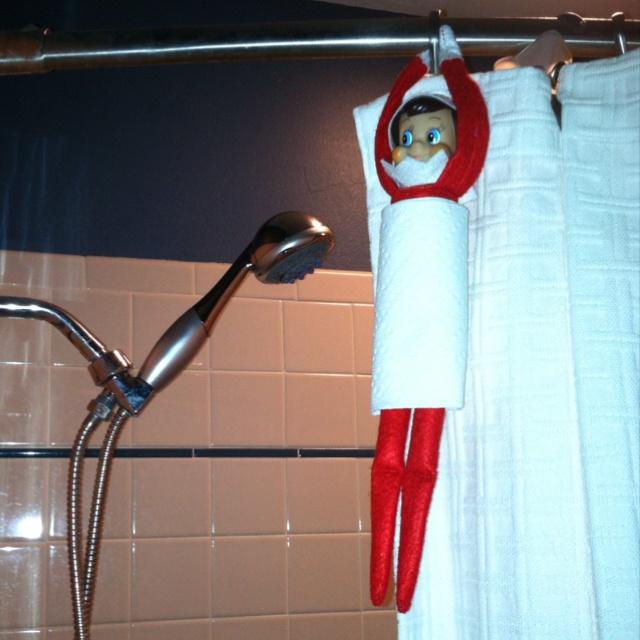 Elf on the Shelf ideas- rub a dub dub | Elf on the Shelf ideas for Ho ...