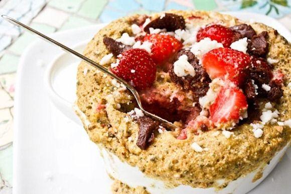 Microwave buckwheat bakes. | Healthy Desserts & Snacks | Pinterest