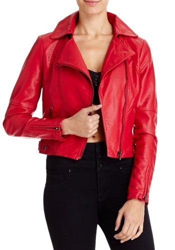2B Cropped Moto Jacket | Leather & Suede | Pinterest
