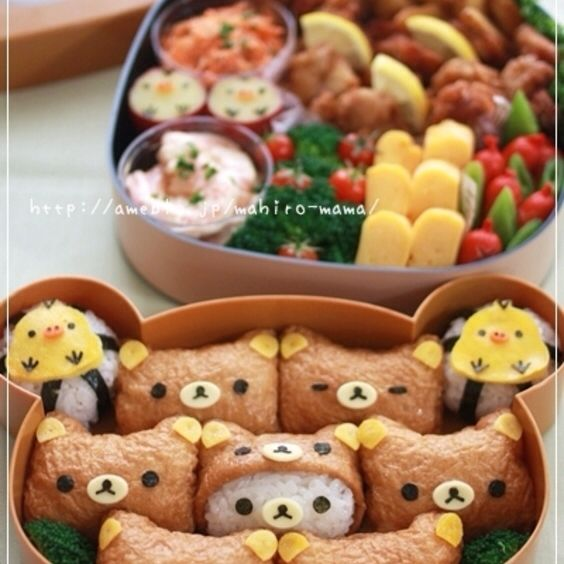 Cute Bento Boxes ☯★☮ | My breakfast world | Pinterest