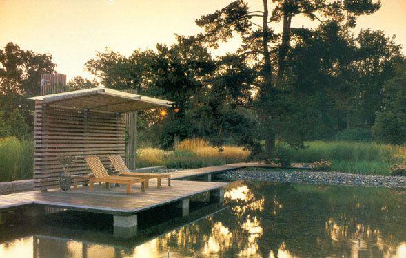 Golden pond dock diy around the house pinterest for Pond pier designs