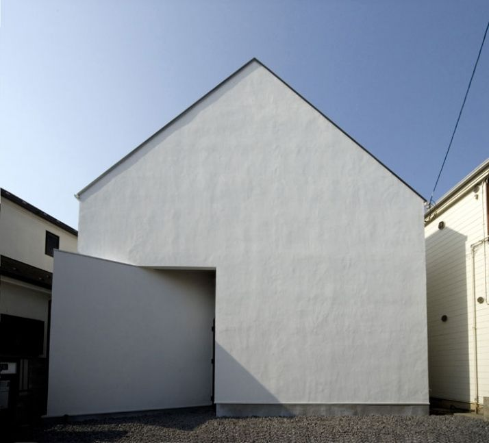 OUCHI-01 house by Jun Ishikawa