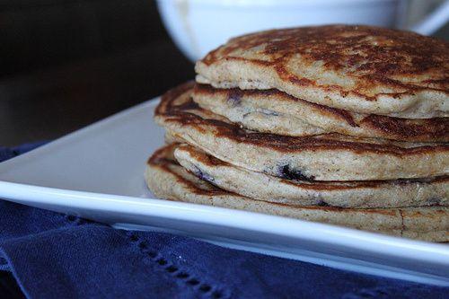 Blueberry Yogurt Multigrain Pancakes | Breakfast | Pinterest