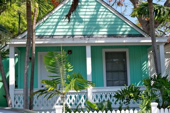 Bungalow tin roof house colors key west key west porch for Key west style metal roof