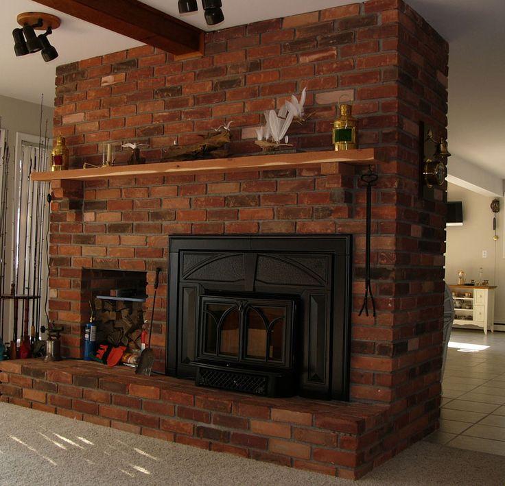 Jotul Fireplace Insert wood storage