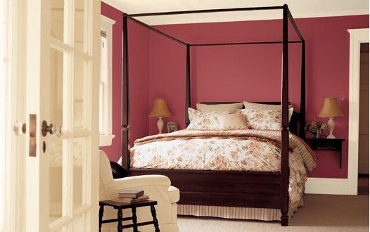 Pink bedroom pink bedrooms for grown ups pinterest for Tonos de pintura para interiores