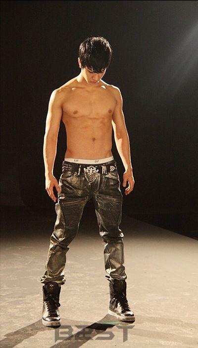 Dongwoon Shirtless Lee Gi Kwang | BEAST |...