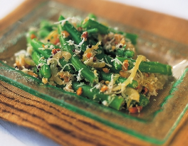 Green Beans with Coconut | Recipes for Jeremy | Pinterest
