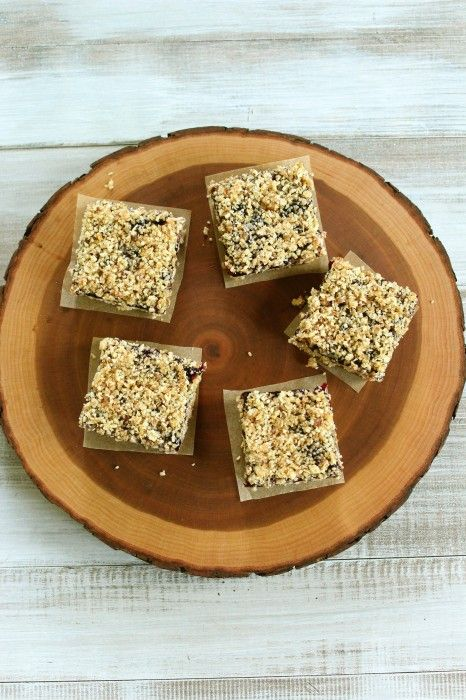 no bake blueberry almond bars | Recipes: Desserts - Healthy Treats ...