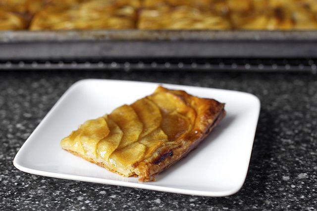 Apple Mosaic Tart with Salted Caramel | Smitten Kitchen Recipes | Pin ...