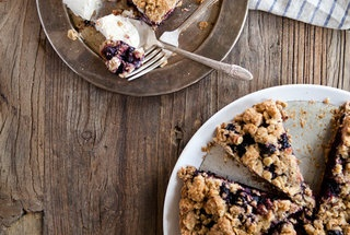 Whole Wheat Plum Crumble Pie — Punchfork | I love to Eat | Pinterest
