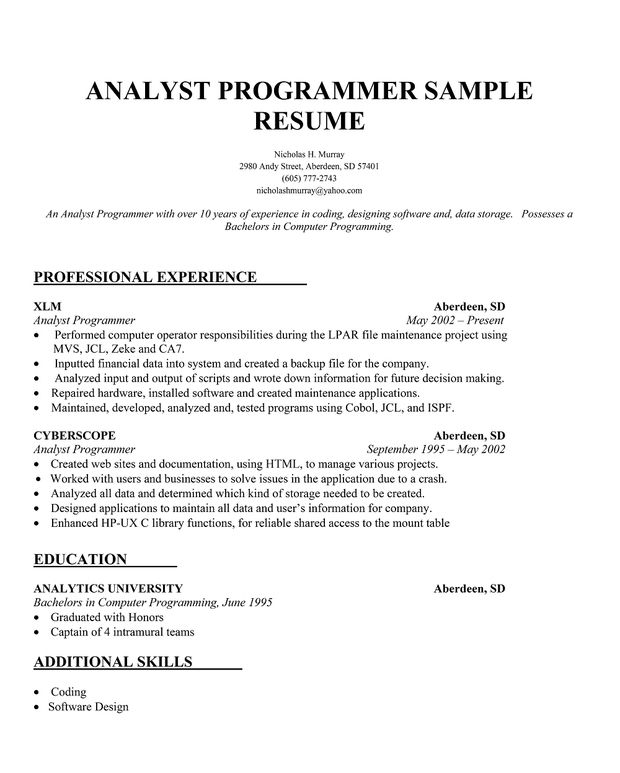 Writing essays for money - The Lodges of Colorado Springs sample - sas programmer cover letter