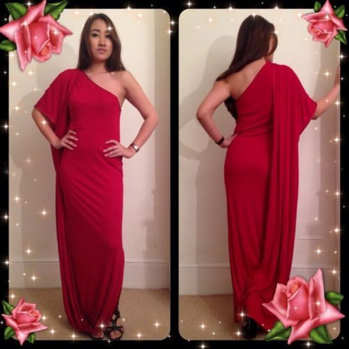 Beautiful christmas party vtg 80 s french couture greek style dress