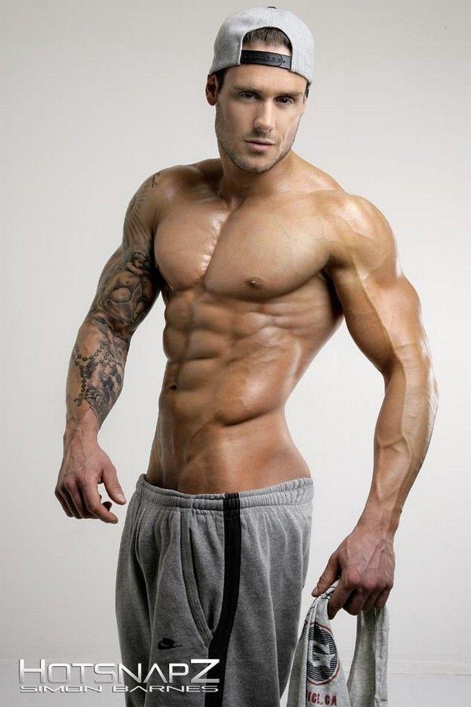 JASE DEAN male fitness model & pro bodybuilder © SIMON BARNES ...: www.pinterest.com/pin/494692340290518095