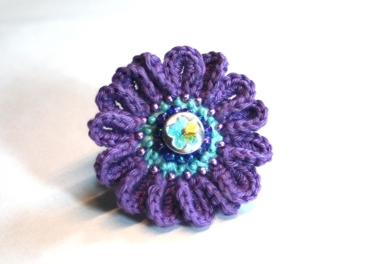 Crocheting Rings : crochet ring